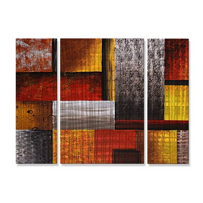 Checkered Past Metal Wall Art