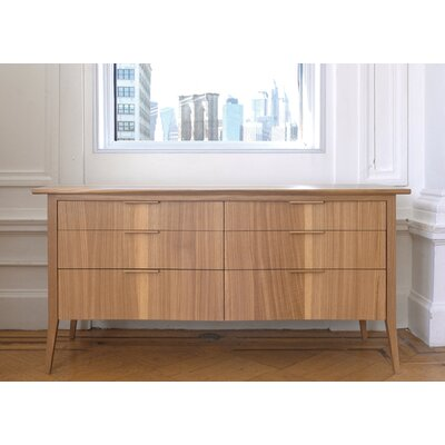 Rift 6 Drawer Low Dresser