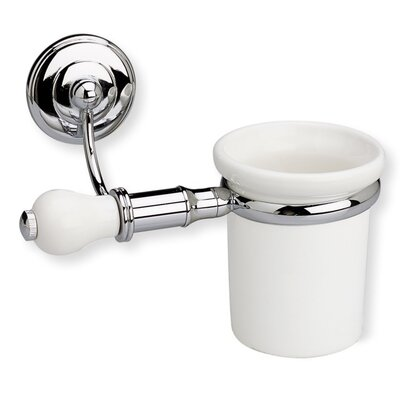 Stilhaus by Nameeks Nemi Wall Mounted Toothbrush Holder with End Cap