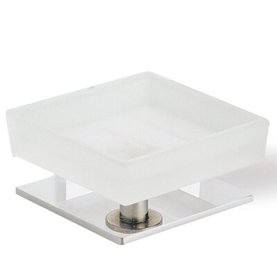 Stilhaus by Nameeks Quid Square Soap Dish with Base