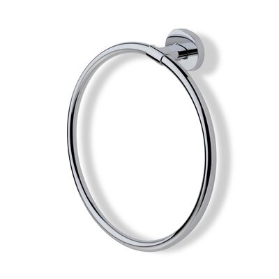 Stilhaus by Nameeks Diana Wall Mounted Towel Ring in Chrome