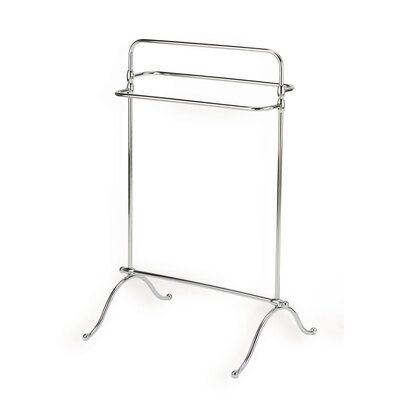 Stilhaus by Nameeks Elite Free Standing Classic Style Towel Holder in Chrome