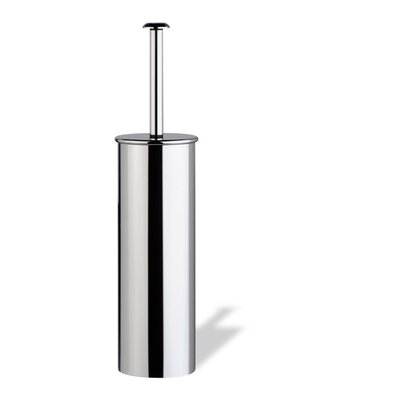 Stilhaus by Nameeks Holiday Free Standing Rounded Toilet Brush Holder in Chrome
