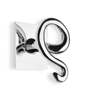 Stilhaus by Nameeks Medea Wall Mounted Double Robe Hook in Chrome