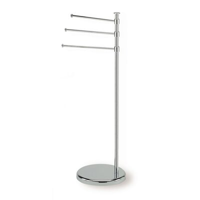 Stilhaus by Nameeks Pegaso Free Standing Towel Stand in Chrome