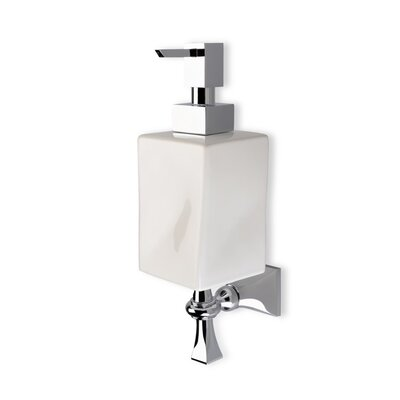 Stilhaus by Nameeks Prisma Classic Style Wall Mounted Soap Dispenser in Chrome