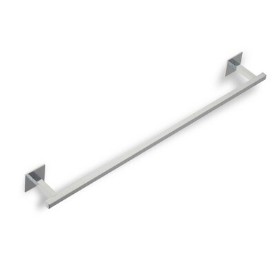 "Stilhaus by Nameeks Urania 24"" Wall Mounted Towel Bar in Chrome"