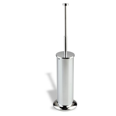 Stilhaus by Nameeks Venus Free Standing Rounded Toilet Brush Holder in Chrome