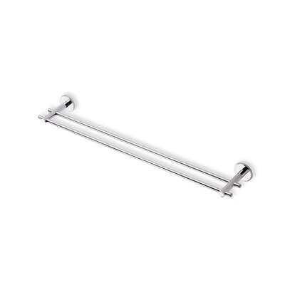 "Stilhaus by Nameeks Venus 24"" Wall Mounted Double Towel Bar in Chrome"