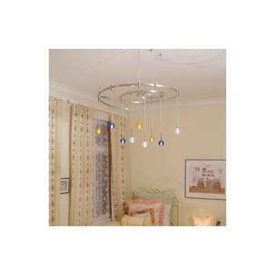LBL Lighting Crystal Ball 1 Light Mini Pendant