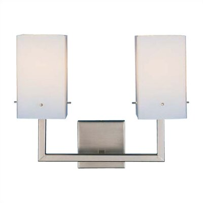 LBL Lighting Casino Two Light Bath Vanity in Bronze