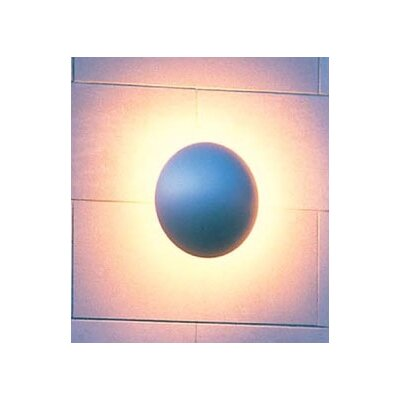 LBL Lighting Eclipse 120V Two Light Outdoor Wall Light in Rust
