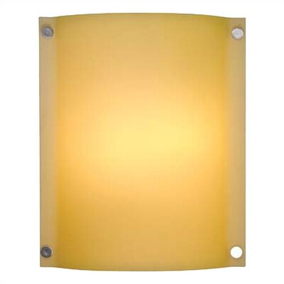 LBL Lighting Stingray Venus Two Light Outdoor Wall Sconce with Opal shade in Satin Nickel