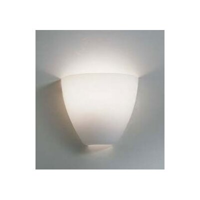 LBL Lighting Mistral 120V One Light Fluorescent Wall Sconce in Satin Nickel