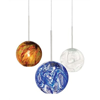 LBL Lighting Paperweight 1 Light Pendant