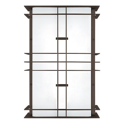 Modular industrial small outdoor wall light wayfair for Wayfair industrial lamp