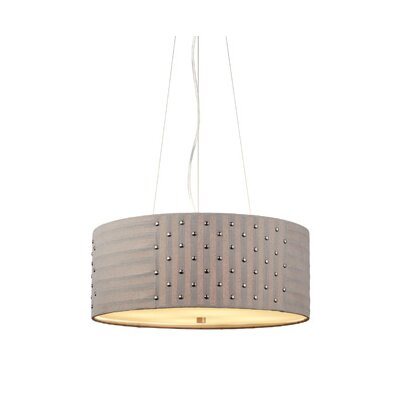 Elba 4 Light Drum Pendant