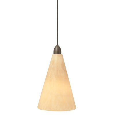 LBL Lighting Onyx 1 Light Pendant