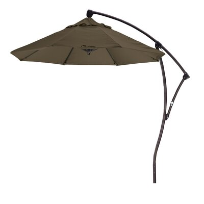 California Umbrella 9' Cantilever Market Umbrella