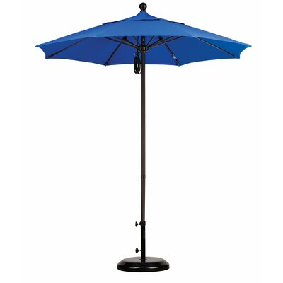 California Umbrella 7.5' Fiberglass Market Umbrella