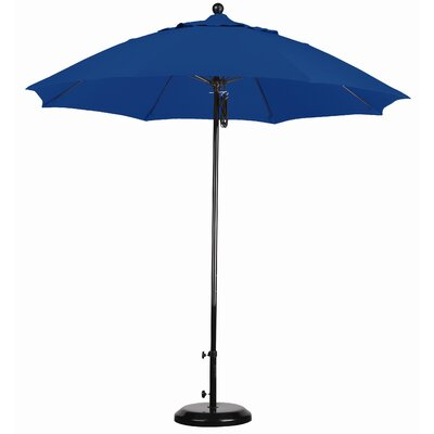 California Umbrella 9' Complete Fiberglass Market Umbrella