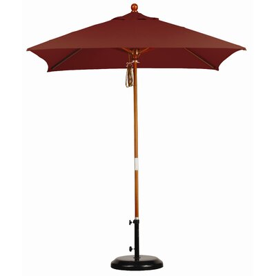 California Umbrella 6' Square Market Umbrella