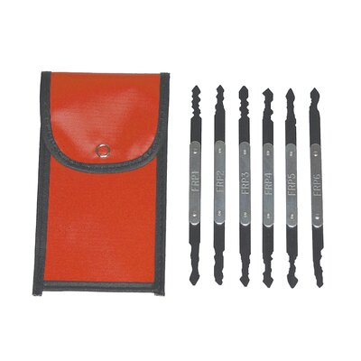 Lock Technology Euro & Asian Lock Pick Set.