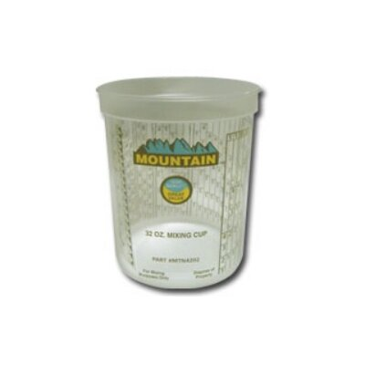 Mountain Mountain Disposable Quart Mixing Cup (100/Cs)