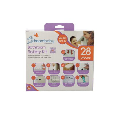 Dreambaby 28 Piece Bathroom Safety Value Pack