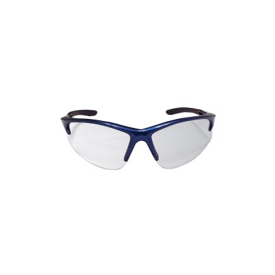 SAS Safety Db2 Safety Gls Blue Frame/ Clr Lens - Clamshell