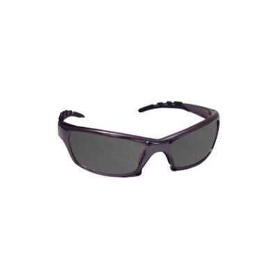 SAS Safety Gtr Safety Gls Charcoal Frm/Shade Lens - Clamshell