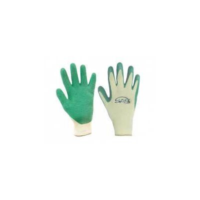 SAS Safety Wrinkled Finish Latex Ctd Gloves Pr Xl