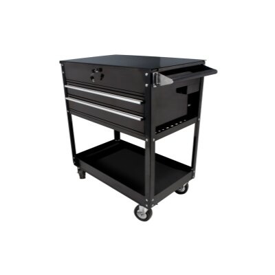 "Sunex 37.5"" Wide 2 Drawer Service Cart"