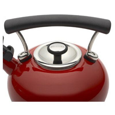Circulon Contempo 2-qt. Tea Kettle in Red