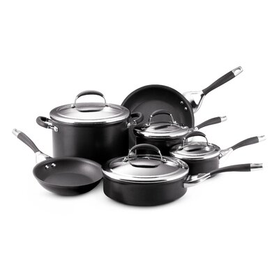 Circulon Elite Aluminum 10-Piece Cookware Set