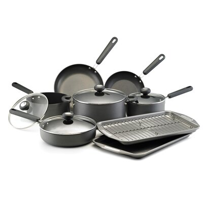 Classic Hard Anodized 13-Piece Cookware Set