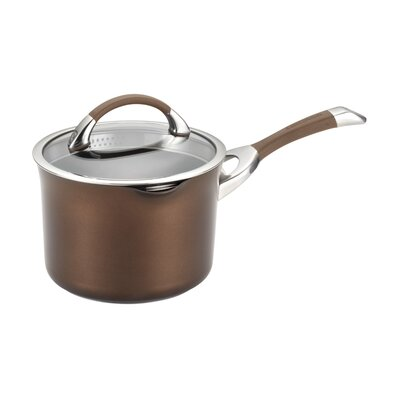 Circulon Symmetry 3.5-qt. Covered Saucepan
