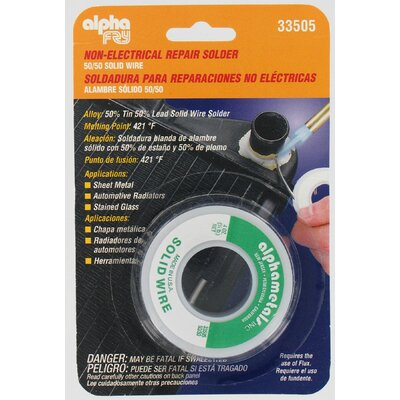 alphafry 50/50 Solder Solid Wire AM33505