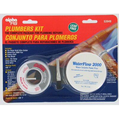alphafry Plumber's Solder Kit AM53949