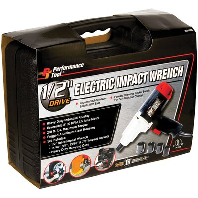 Wilmar Electric Impact Gun Set 1/2 Dr