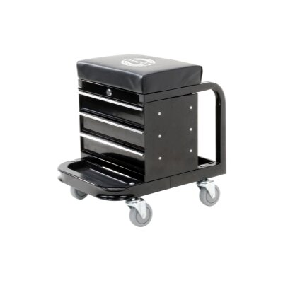 Omega 450 Lbs. Creeper Seat Tool Box