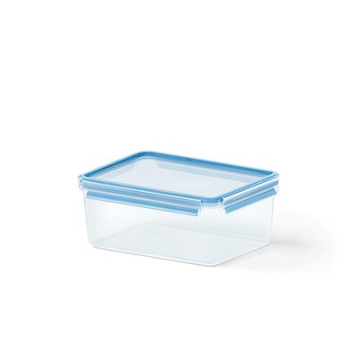 Emsa 3D Food Storage Deep Rectangular 125 fl oz Clip and Close Container