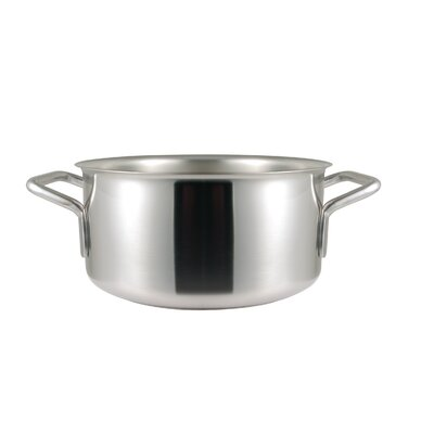 Frieling Sitram Catering 8.6 Qt. Stainless Steel Round Braiser