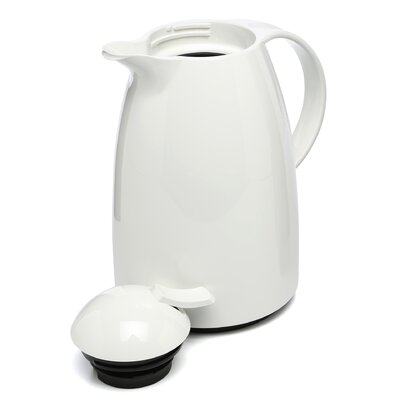 Frieling Emsa Auberge Quick-Tip 6 Cup White Beverage Server