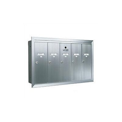 Florence Mailboxes 1250 Vertical USPS Wall Mailbox Unit