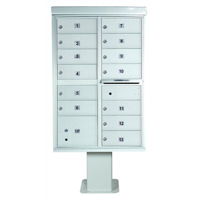 Florence Mailboxes 1565 High Security Cluster Box Units (13 Box Unit)