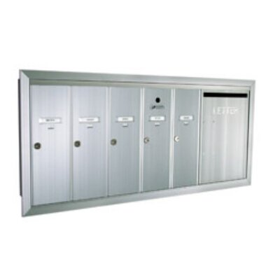 Florence Mailboxes 1260  Series Vertical Mailbox Unit With Outgoing Mail Slot