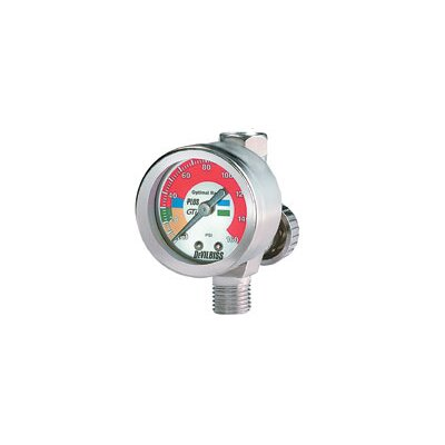 ITW Devilbiss Air Adj Valve W/Gauge