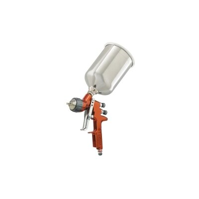 ITW Devilbiss Tekna Copper HE Gravity Spray Gun with Cup
