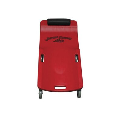 Lisle Lg Whl Plastic Creeper, Red